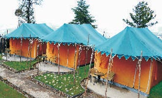 Chail villas camp