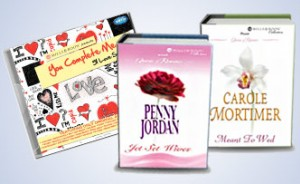 beautifully packed Mills & Boon Valentine Combo