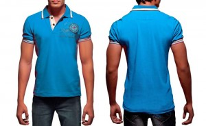 cotton polo T-shirt
