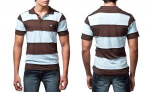 100% organic cotton polo T-shirt
