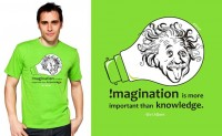 Imagination is more important T-shirt