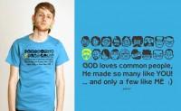 Funky slogan T-shirt
