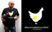 Who cares which came 1st T-shirt