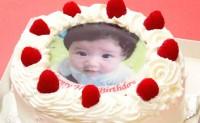 Photo Print Cake