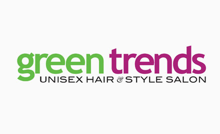 Green Trends Unisex Hair & Style Salon Deal,Offer