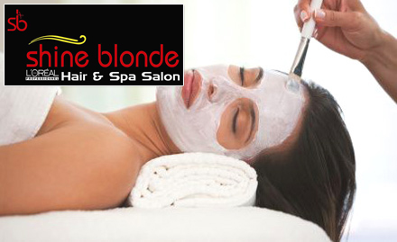 Shine Blonde Hair And Spa Salon