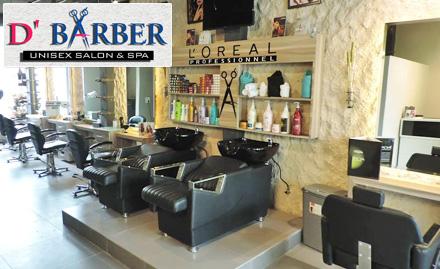 D'Barber Unisex Salon N Spa