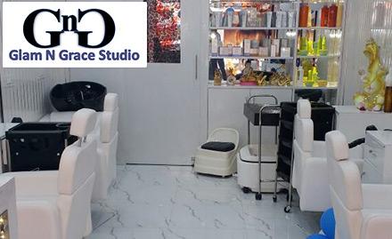 Glam n grace studio unisex salon j 6 91 l nehru market for A fresh start beauty salon