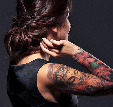 94% Off on portrait tattoo @ Design 4 Life Tattoo