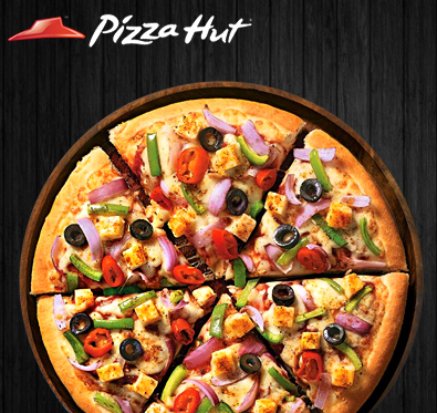 BOGO offer on medium pizza @ Pizza Hut