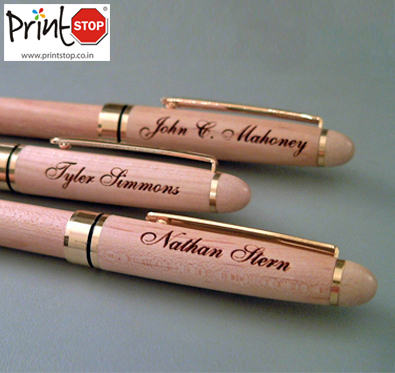 25% off on Metal Engraved & Plastic Pens @ printstop.co.in